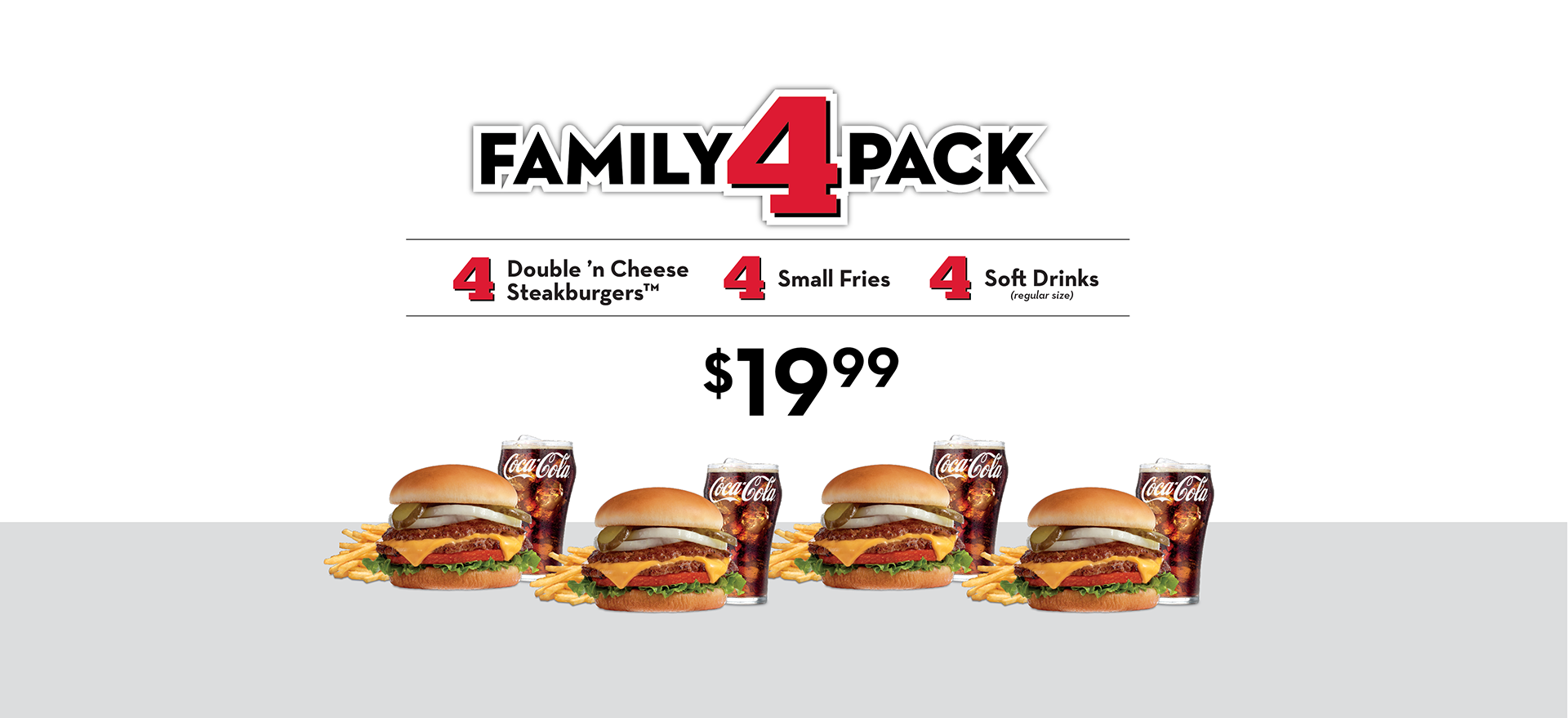FAMILY 4 PACK MEAL DEAL